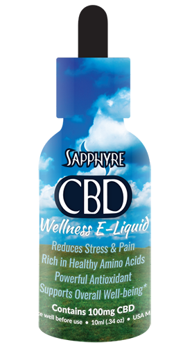 Sapphyre CBD Wellness E-Liquid