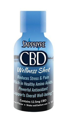 Sapphyre CBD Wellness Shot